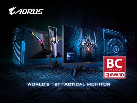 AORUS AD27QD Tactical Monitor Won Computex BC Award For Best Design