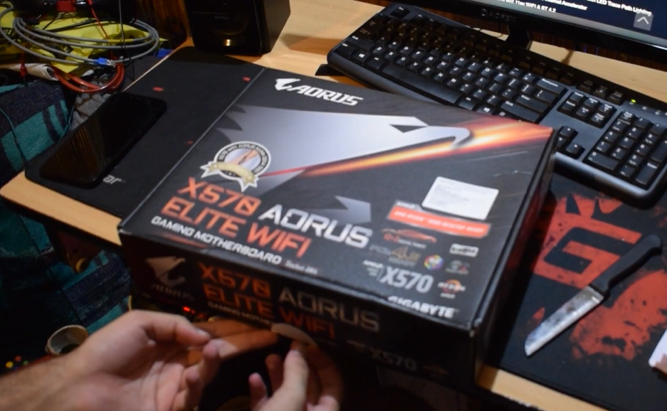 [Member Submission] AORUS X570 Elite wifi unboxing